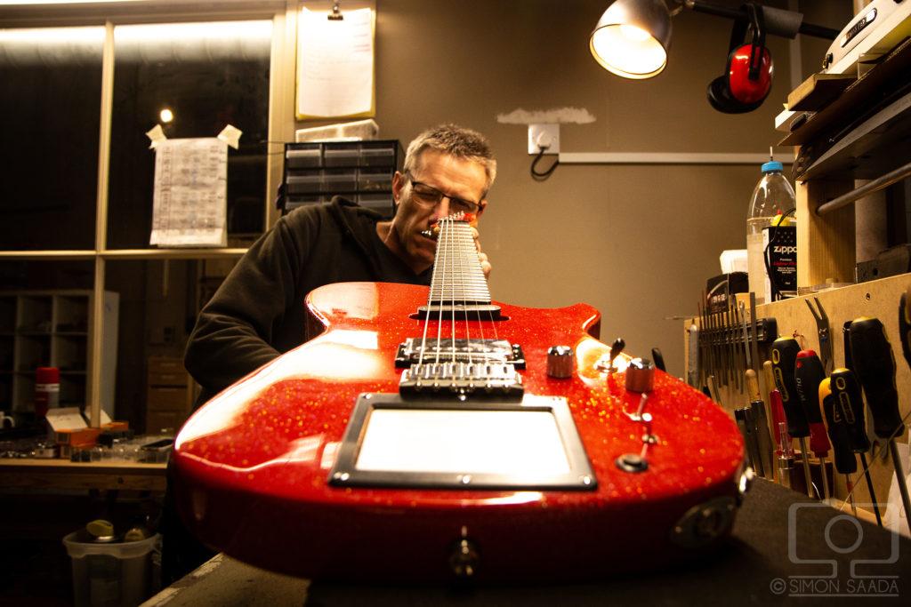 Manson Guitare Work