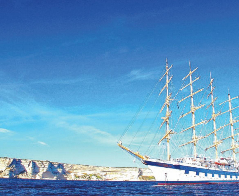 Une journée à bord du Royal Clipper