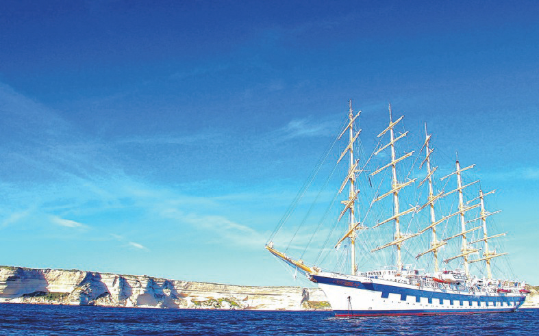 Une journée à bord du Royal Clipper